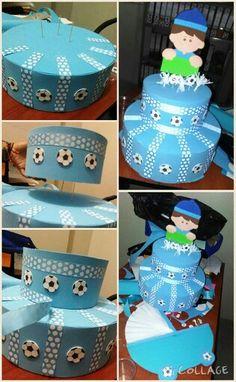 Mi primer Torta falsa babyshower o 1er Cumpleaños #Nadamalparacomenzar