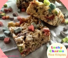 Lucky Charm Marshmallow Rice Krispies – The Baking ChocolaTess