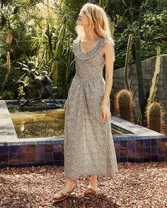 30 Everyday Dresses to Wear at Home This Summer Simple Dresses, Pretty Dresses, Mandarin Dress, Coral Dress, Vintage Inspired Dresses, Eyelet Dress, Everyday Dresses, Tiered Dress, Get Dressed