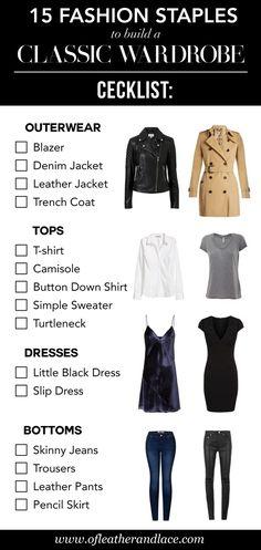 Minimalist Wardrobe Essentials, Simple Wardrobe, Classic Wardrobe, Work Wardrobe Essentials, Black Wardrobe, Outfit Essentials, Fashion Essentials, Makeup Essentials, Clothing Staples