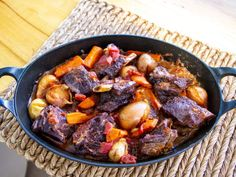 Get Braised Short Ribs Recipe from Food Network Braised Short Ribs, Beef Short Ribs, Beef Ribs, Rib Recipes, Cooker Recipes, Thanksgiving, Beef Dishes, The Ranch, Ina Garten