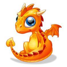 Bébé Dragon - Ambre - Body Bébé manches courtes - Coton biologique - Blanc                                                                                                                                                                                 Plus