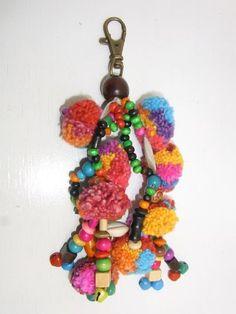 Handbag Accessory Key Chain Zip Pull Pom Pom Decoration Handmade by HMONG Tribe Thailand Thai Passport http://www.amazon.com/dp/B00B3B3J1C/ref=cm_sw_r_pi_dp_yTQ3tb0HA9E8JH88$3.99