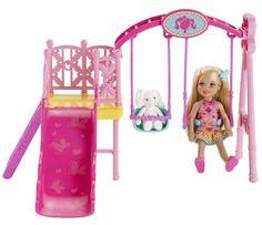 Barbie Sisters Chelsea Swing Set Mattel http://www.amazon.com/dp/B00EZ663OC/ref=cm_sw_r_pi_dp_AQ6Ptb1GCCEA94CH