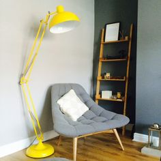 made.com Kolton chair kestrel grey