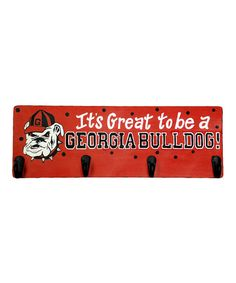 Take a look at this Georgia Hook Board by Glory Haus on #zulily today!