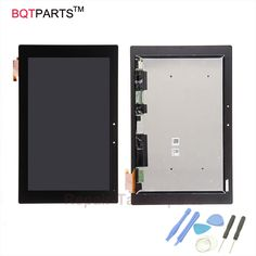 (124.00$)  Watch here  - BQT For Sony Xperia Z2 Tablet  SGP511 SGP512 Replacement Lcd Display+screen Touch Digitizer Glass pocketbook touch screen
