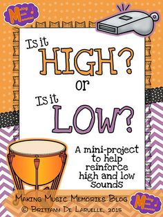 This year I created a small project for us to work on to continue work on high vs. low. I really enjoyed this project because the students...