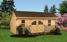 shed ideas | 10×16 Gable Shed Plans – Affordable Utility Shed Plans For Your ...
