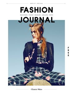 Could work well for typography portfolio. Inverse the image to the border  fashion journal
