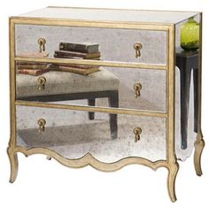http://api.shopstyle.com/action/apiVisitRetailer?id=436514746&pid=uid84-31725922-10  BELLE MEADE ECKART MIRRORED 3-DRAWER CHEST, BRASS  $1,599