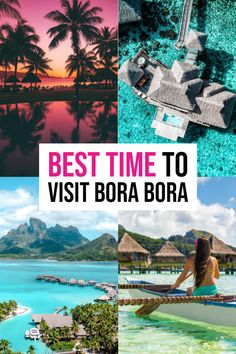 Best Time To Visit Bora Bora: Month By Month Breakdown. Travel to Bora Bora. Bora Bora honeymoon bora honeymoon Best Time To Visit Bora Bora: Month By Month Breakdown Trip To Bora Bora, Bora Bora Honeymoon, Where Is Bora Bora, Tahiti, Dream Vacations, Vacation Spots, Dream Trips, Italy Vacation, Vacation Ideas