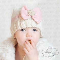 81d507b1055 Baby Girl Knit Hats Baby Girl Beanie Newborn Girl Hat Baby Knit Hat Baby  Girl Winter Hat Photo Prop Baby Baby Shower Gift Girl Crochet Hat