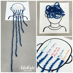 Worry Brain Yarn Activity therapy activities social workers 5 Fun and Easy School Counseling Activities Using String Elementary School Counseling, School Social Work, Group Counseling, Counseling Activities, School Counselor, Elementary Schools, Social Work Activities, Art Activities, Physical Activities