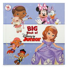 Big Book of Disney Junior. Enter the magical world of Disney Junior in the storybook collection starring all your favorite characters. From princesses to pirates and everything in between, these 10 tales of friendship are sure to spark wonder, excitement and laughs.Magic in the details.