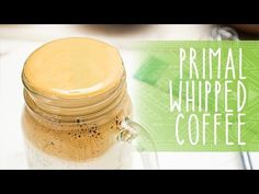 How to make whipped coffee, also known as dalgona coffee or coffee, Primal style! Dalgona coffee, or whipped coffee, is the viral TikTok drink t. Primal Blueprint Recipes, Primal Recipes, Dairy Free Recipes, Primal Kitchen, Collagen Powder, Iced Latte, Nutrition Information, Coffee Recipes, Kitchen Recipes