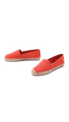 Tory Burch Kirby Suede Flat Espadrilles #Shopbop