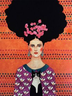 Por amor al arte: Hülya Özdemir Female Portrait, Portrait Art, Female Art, Portraits, Portrait Paintings, Art Paintings, Abstract Portrait, Art And Illustration, Illustrations