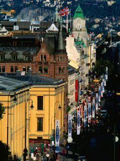 Norway, the first country I moved to on my own. It's where it all started...  Oslo was amazing!