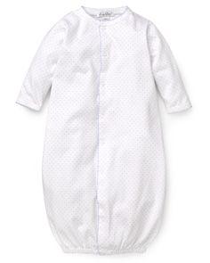 Kissy Kissy Infant Boys' Polka Dot Convertible Gown - 0-3 Months | Bloomingdale's