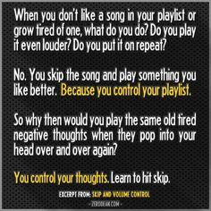 Excerpt from: Skip and volume control #zerosophy