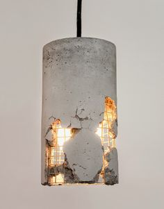 concrete lamp                                                                                                                                                      More