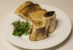 Roast Bone Marrow And Parsley Salad   Nose To Tail At Home