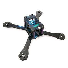Lumenier QAV-SKITZO Dark Matter FPV Freestyle Drone Racing Quadcopter Frame