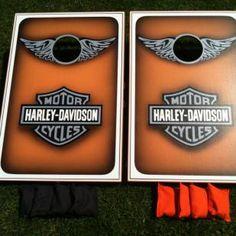 Wraps Harley Davidson And Cornhole On Pinterest