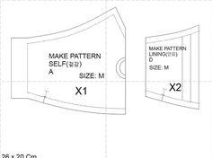 mask 6 – GoogleDrive Sewing Lessons, Sewing Hacks, Sewing Tutorials, Sewing Projects, Sewing Ideas, Sewing Crafts, Easy Face Masks, Diy Face Mask, Dress Making Patterns