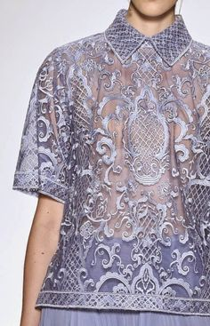 patternprints journal: PRINTS, PATTERNS AND SURFACES FROM NEW YORK FASHION WEEK (WOMAN COLLECTIONS SPRING/SUMMER 2015) / Tadashi Shoji