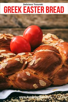 If you're looking for something new to add to your Easter celebrations this year try this delicious Greek Easter bread. It's slightly sweet and pairs perfectly with just about anything on your Easter brunch table. This easy to follow recipe makes it simple to create one or more loaves so you can share with friends and neighbors.