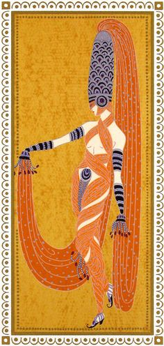 Erté, Pearl of the Orient
