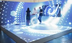 Euroshop LEDs everywhere! Exhibition Stall, Exhibition Stand Design, Exhibition Display, Exhibition Ideas, Pop Display, Display Design, Store Design, Interactive Media, Interactive Design