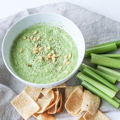 Spinach and Pea Hummus