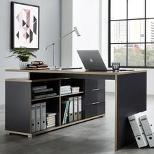 Bureau en bois Longueur 190cm Largeur 90cm SLIVER BUREAUX