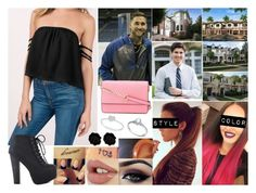 """""""Townhouse Hunting"""" by samanthanicole39 ❤ liked on Polyvore featuring Victoria's Secret PINK, Ardell, Allurez, Fornash and MICHAEL Michael Kors"""