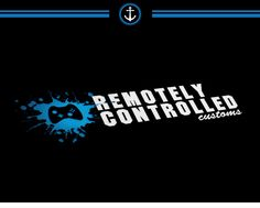 Remotely Controlled Customs Logo Design