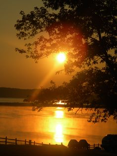 Sun Rise on the Lake, Lake Anna VA taken by Rachel Tyson