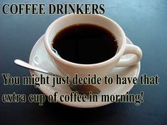 For all those habitual coffee drinkers out there this will be good news to you and maybe you may even say - I told you so! http://www.extremenaturalhealthnews.com/study-you-can-drink-coffee-to-reverse-liver-damage-caused-by-alcohol/