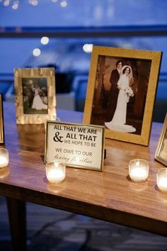 honor loved ones wedding ideas