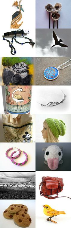 A little bird told me ~ 10% Off All Featured Shops by Valerie Brown on Etsy--Pinned with TreasuryPin.com