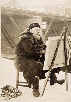 Норвежский художник Фриц Таулов (Frits Thaulow): vakin