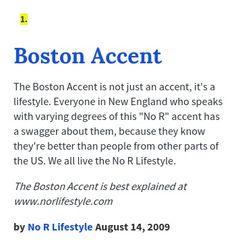 Boston accent - Wikipedia