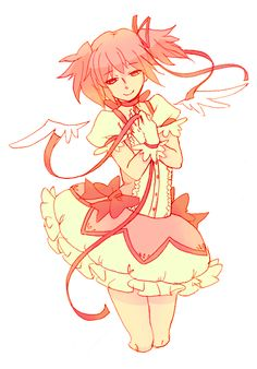 Puella Magi Madoka Magica Madoka Magica, Mahou Shoujo Ore, Symbolic Art, Tokyo Mew Mew, Girls Series, Magical Girl, Kawaii Anime, Cute Art, Les Oeuvres