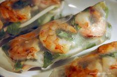 Vietnamese Spring Rolls   James & Everett Shrimp Spring Rolls, Chicken Spring Rolls, Summer Rolls, Dips, Vietnamese Spring Rolls, Rice Paper Rolls, Sweet Chili, Fish Dishes, Main Dishes
