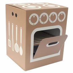 how to make a cardboard stove