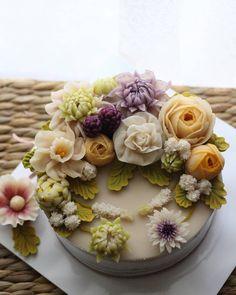 Rice flower cake