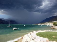 Bad weather [photo © Bas van Oorschot] @gardaconcierge