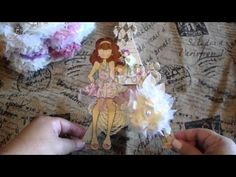 ▶ Prima Mixed Media Doll Stamps NEW Collection and Projects - YouTube